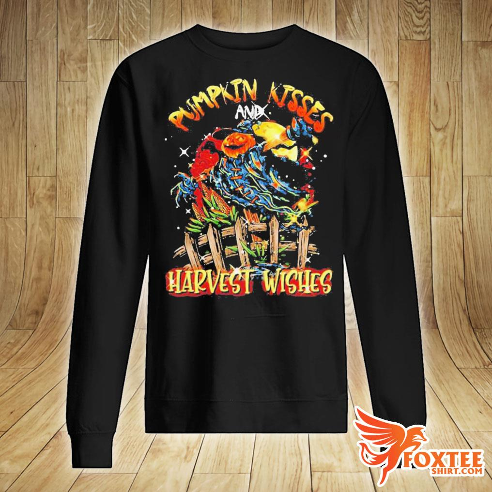 Pumpkin Kisses And Harvest Wishes Shirt sweater
