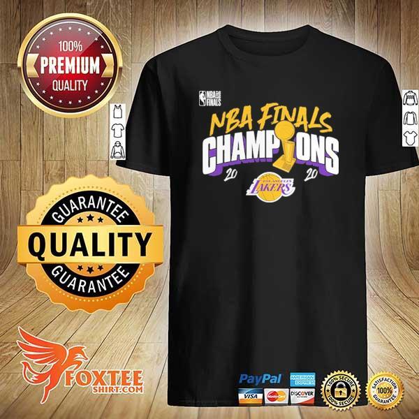 2020 Champions Los Angeles Lakers Finals Shirts