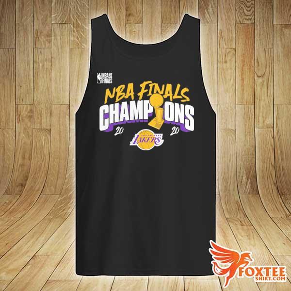 2020 Champions Los Angeles Lakers Finals Shirts tank-top