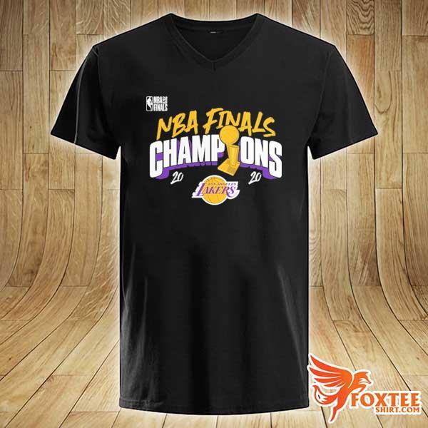 2020 Champions Los Angeles Lakers Finals Shirts v-neck