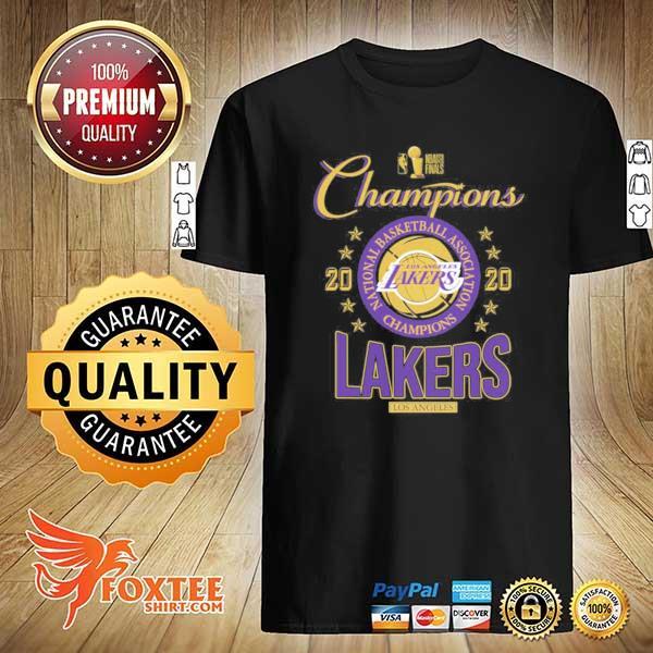 2020 Lakers Champions T-Shirt