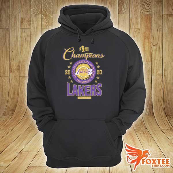2020 Lakers Champions T-Shirt hoodie