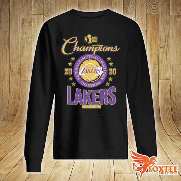2020 Lakers Champions T-Shirt sweater