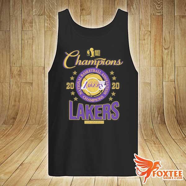 2020 Lakers Champions T-Shirt tank-top