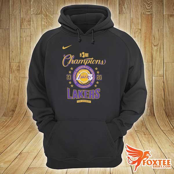 2020 Los Angeles Lakers Champions NBA T-Shirt hoodie