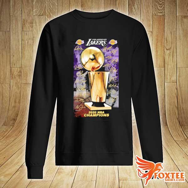 2020 Los Angeles Lakers Champions Signature Shirt sweater