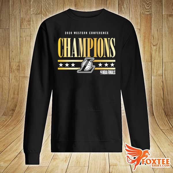 2020 Los Angeles Lakers Western Conference Champions T-Shirt sweater