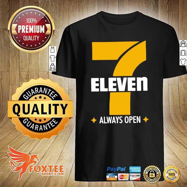 7 ELEVEN ALWAYS OPEN SHIRT