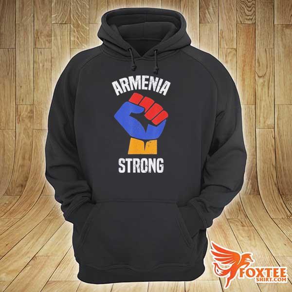 Armenia Strong Shirt Artsakh Republic Defend Armenian Fist Shirt hoodie