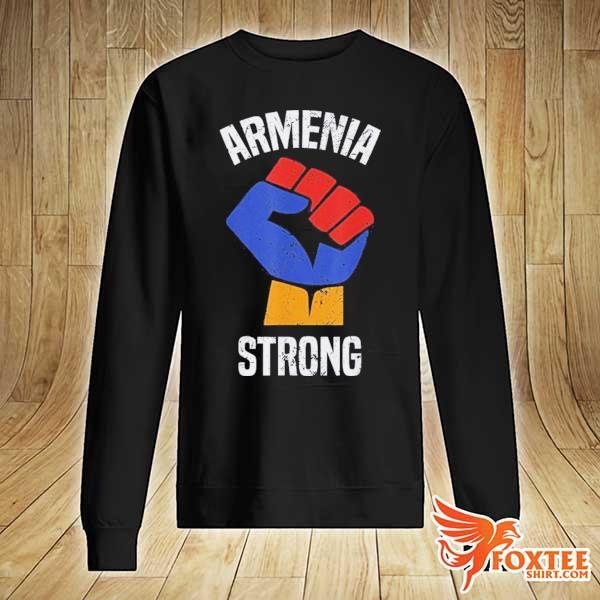 Armenia Strong Shirt Artsakh Republic Defend Armenian Fist Shirt sweater