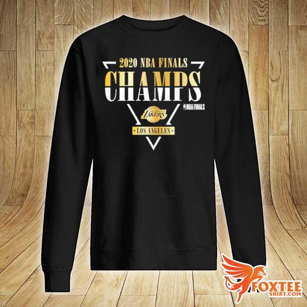 Black Los Angeles Lakers 2020 NBA Finals Champions Shirt sweater