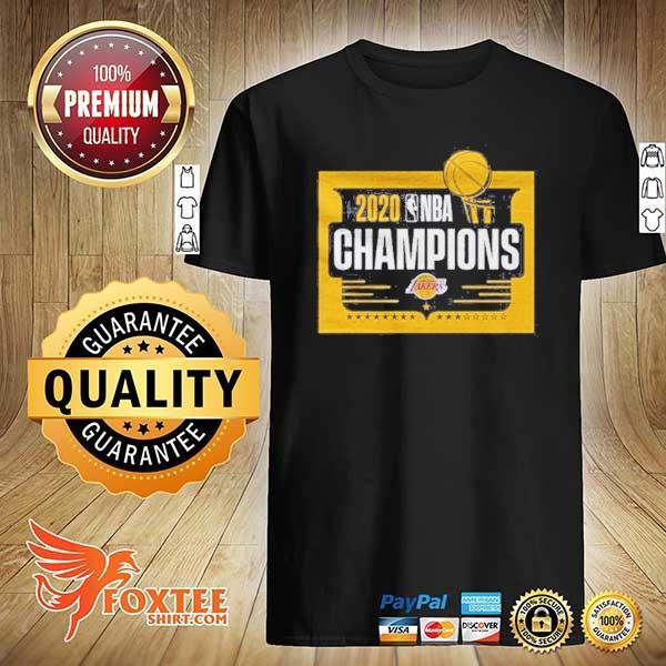 Front NBA Champions T Shirt Lakers Tee