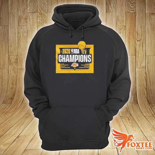 Front NBA Champions T Shirt Lakers Tee hoodie