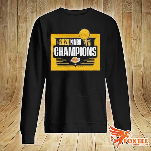 Front NBA Champions T Shirt Lakers Tee sweater