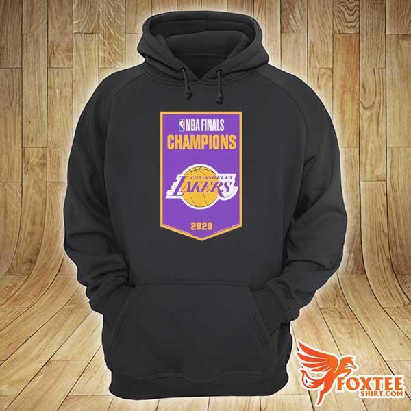 NBA Finals Chamipons Los Angeles Lakers 2020 Shirt hoodie