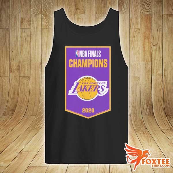 NBA Finals Chamipons Los Angeles Lakers 2020 Shirt tank-top
