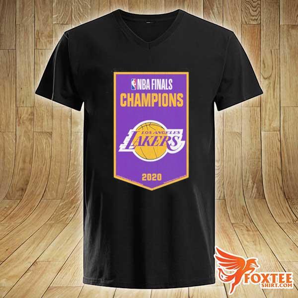 NBA Finals Chamipons Los Angeles Lakers 2020 Shirt v-neck