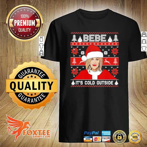 2020 bebe it's cold outside ugly christmas sweatshirt