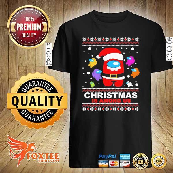 2020 christmas is among us sweatshirt