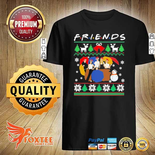 2020 friends tv show christmas 2020 sweatshirt