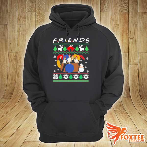 2020 friends tv show christmas 2020 sweats hoodie