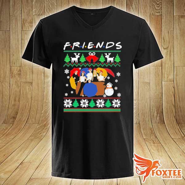 2020 friends tv show christmas 2020 sweats v-neck