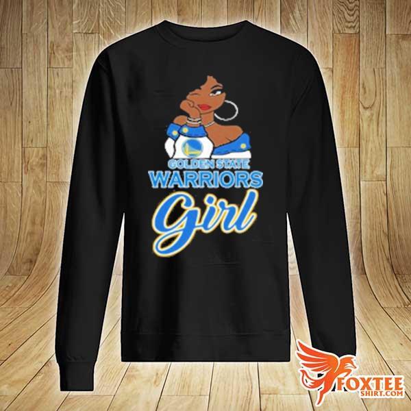 2020 golden state warriors girl nba v-neck t-s sweater