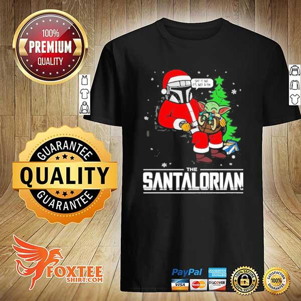 2020 star wars the mandalorian the santalorian christmas sweatshirt