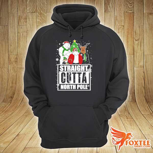 2020 straight outta north pole christmas sweats hoodie
