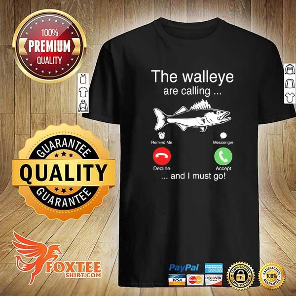 2020 the walleye are calling and i must go fish sweatshirt