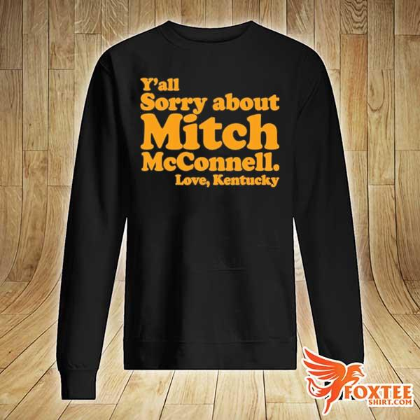 2020 y'all sorry about mitch mcconnell love kentucky s sweater
