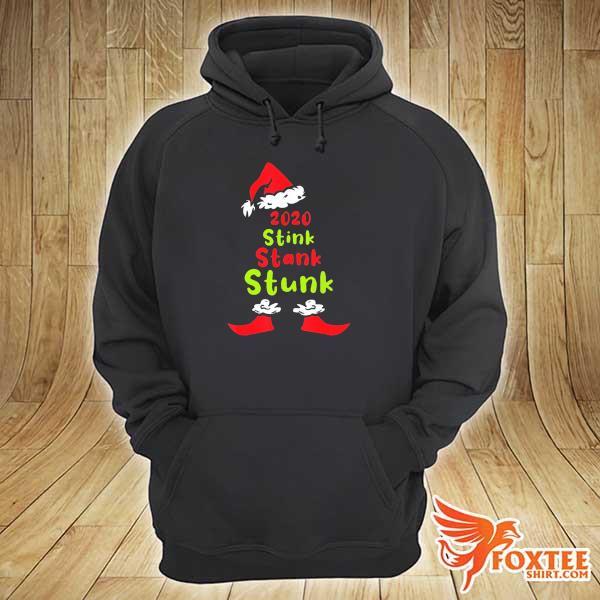 Original 2020 stink stank stunk christmas t-s hoodie