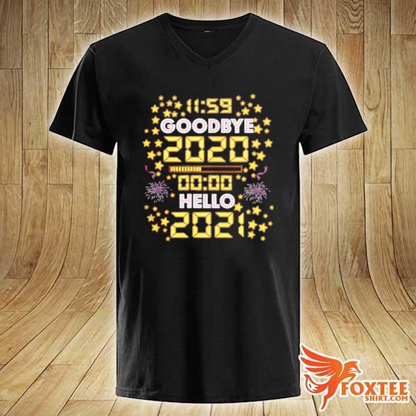 11 59 Goodbye 2020 00 00 Hello 2021 Happy New Year 2021 s v-neck