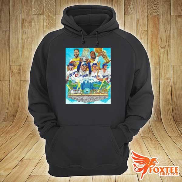 2020 los angeles lakers and los angeles dodgers champions 2020 player s hoodie