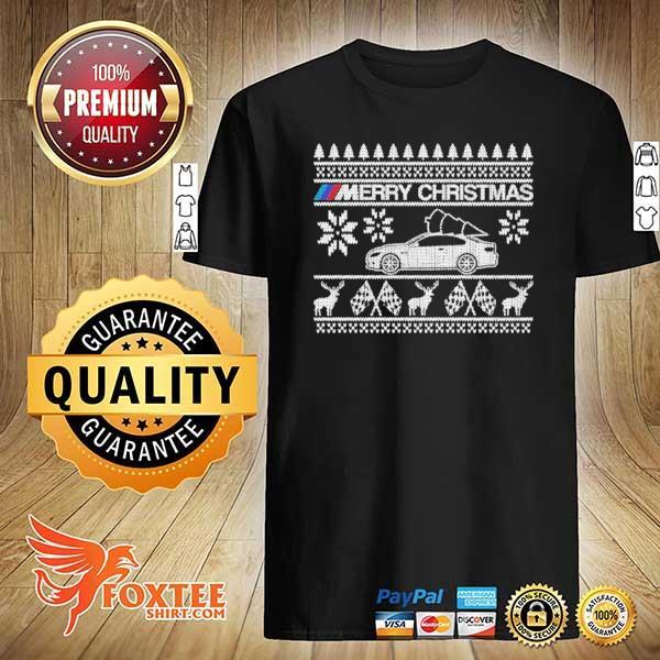 Car BMW M Merry Ugly Christmas Xmas Sweatshirt