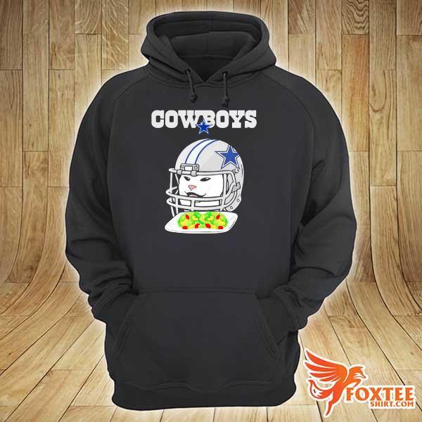 Dallas Cowboys Cat meme woman yelling at Cat s hoodie