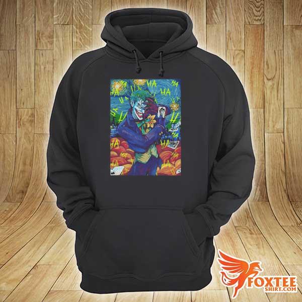 Dc Comics The Joker Starry Night Style Portrait s hoodie