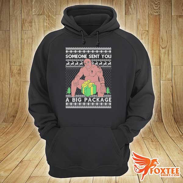 Original barry wood someone sent you this big package christmas xmas ugly sweats hoodie