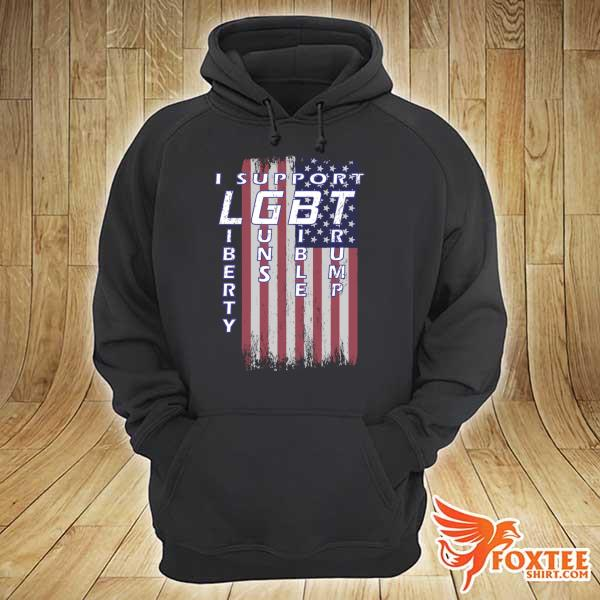 Original i support liberty guns bible trump american flag patriotic s hoodie