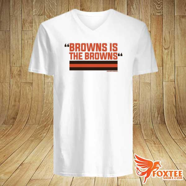2021 The Browns Is The Browns Shirt v-neck