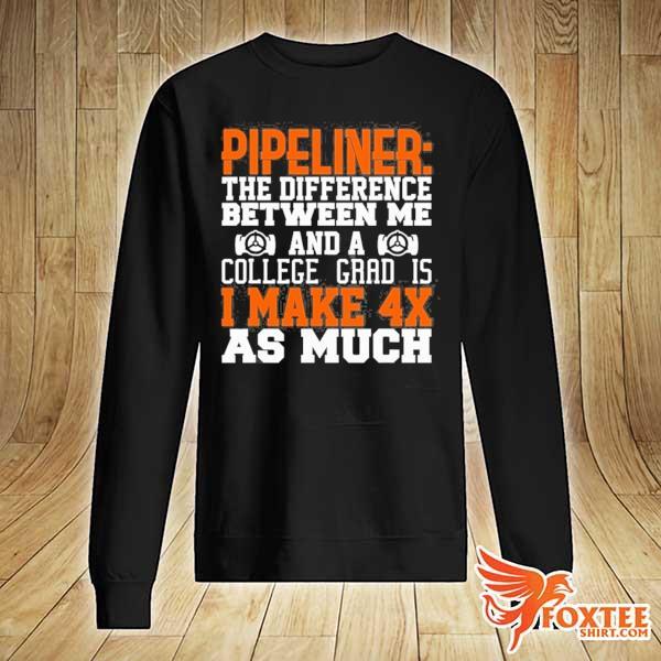 4x college pipeliner welder welding pipeline gift s sweater