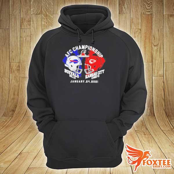 Afc championship Buffalo Bills vs Kansas city Chiefs january 24 2021 s hoodie