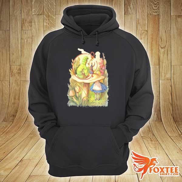 Alice and the hookah smoking caterpillar design s hoodie