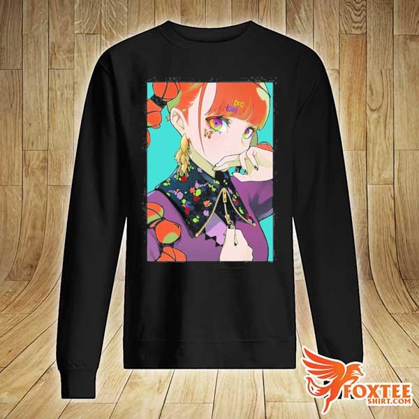 Anime girl waifu japanese aesthetic otaku gift s sweater