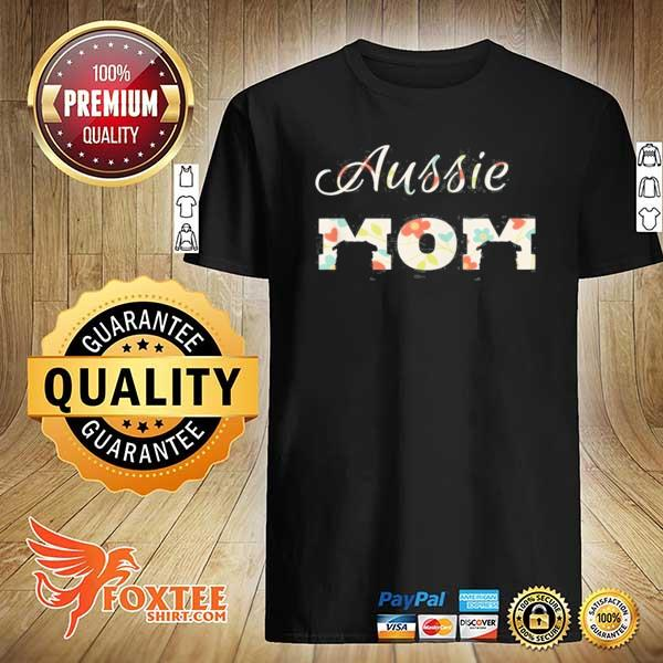 Aussie mom zip aussie mom for women zip shirt