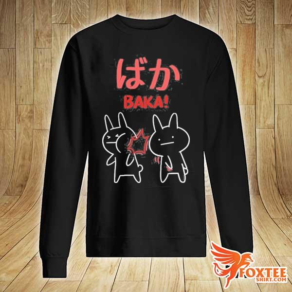 Baka anime manga rabbit slap otaku s sweater