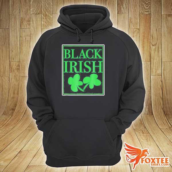 Black irish st. patrick's day s hoodie