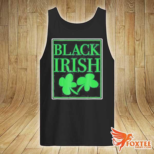 Black irish st. patrick's day s tank-top