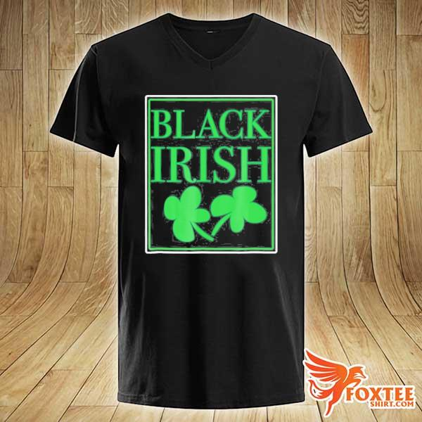 Black irish st. patrick's day s v-neck