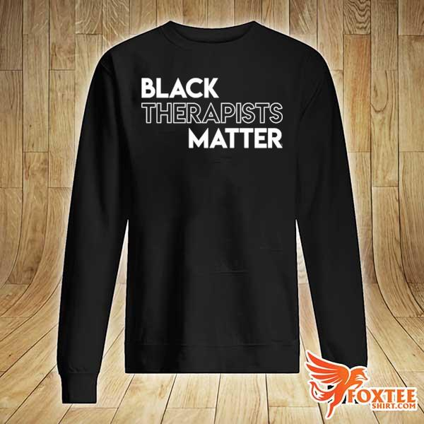Black therapists matter african history month s sweater
